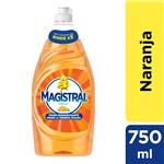 Detergente MAGISTRAL Naranja Botella 750 Ml