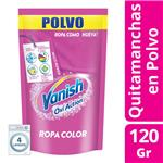 Quitamanchas VANISH Oxiaction Doypack 120 Gr