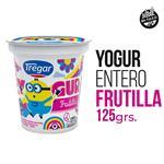Yogur Entero TREGAR Frutillas Cremoso 125 Gr