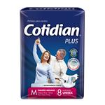 """Pañales Adulto COTIDIAN Plus """"M"""" 8 Unidades"""