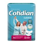 "Pañales Adulto COTIDIAN Classic ""M"" 8 Unidades"