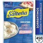 Sorrentinos Jamon&Muzzarel La Salteña Bli 300 Grm