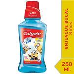Enjuague Bucal Colgate Plax Kids Minions 250ml