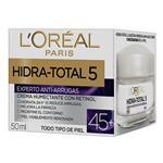 Crema Experto Antiarrugas +45 L´Oréal Paris Hidra Total 5 X 50ml