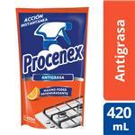 Limp.Liquido Cocina Espuma PROCENEX Doy 420 Ml