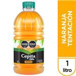 Jugo CEPITA Naranja Tentación Botella 1 L