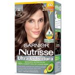 Kit Completo De Coloración Permanente Nutrisse Ultra Cobertura Tono 60 Capuccino X 45 Gr
