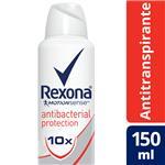 Desodorante Antitraspirante REXONA  Antibacterial  Aerosol 150 Cc