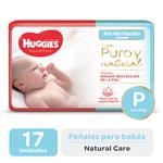 Pañal HUGGIES Natural Care Px17