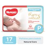 Pañal HUGGIES Natural Care Px17