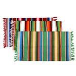 Alfombra Stripes Flecos 50x80 Cm . . .