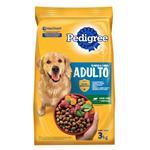 Alimento Adultos PEDIGREE 3 Kg Carne Y Vegetales