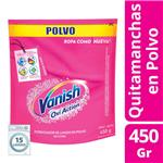 Quitamanchas Vanish Oxiaction Doypack 450 Gr