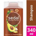 Shampoo SEDAL Bomba De Nutrición Botella 340 ML