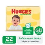 Pañal HUGGIES Triple Protección Gx22