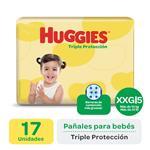 Pañal HUGGIES Triple Protección  Xxgx17