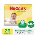 Pañal HUGGIES Triple Protección Mx26