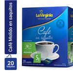 Café En Saquitos LA VIRGINIA    Caja 20 Unidades