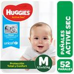 Pañal HUGGIES Active Sec Mx52