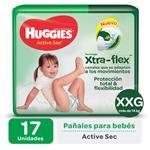 Pañal HUGGIES Active Sec Xxgx17