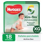 Pañal HUGGIES Active Sec Xgx18