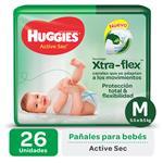 Pañal HUGGIES Active Sec Mx26