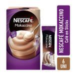 Café Instantáneo Nescafé Mokaccino 6 Sobres X 25g