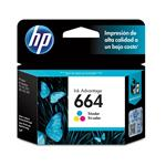 Cartucho HP 664 Tinta Color