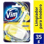 Canasta Sólida Para Inodoro VIM 3 En 1 Citrus 35 Gr
