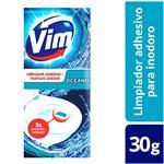 Limpiador Adhesivo De Inodoro VIM Océano 30 Gr