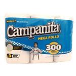 Rollo Cocina Mega 100 Paños Campanita Paq 3 Rol