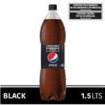 Gaseosa PEPSI Light Black Botella 1.5 L