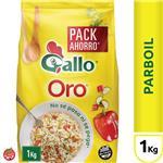 Arroz Largo Fino GALLO ORO Parboil Paquete 1 Kg