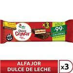 Alfajor De Arroz Chococrunch Chocolate 20 Gr X 3 Uni