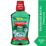 Enjuague Bucal Colgate Plax Ice Glacial 500ml Promo Lleve 500ml Pague 350ml