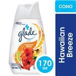 Aromatizante De Ambientes En Gel GLADE Cono Hawaiian Breeze 170gr