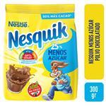 Cacao En Polvo Nesquik Menos Azúcar 300gr