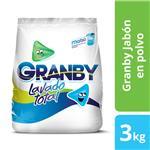 Jabón En Polvo GRANBY     Paquete 3 Kg