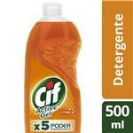 Detergente CIF ACTIVE GEL Botella 500 Ml