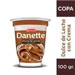 Copa Danette Dulce De Leche Con Crema 100 Gr