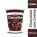 Copa Danette Chocolate Con Crema 100 Gr