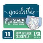 Ropa Interior GOODNITES G/Xg X11