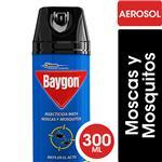 Insecticida Mata Moscas Y Mosquitos BAYGON En Aerosol 300cc