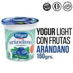 Yogur Descremado TREGAR Arándanos Con Frutas 160 Gr