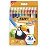Lapices De Color BIC Evolution 36 Unidades