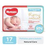 Pañal HUGGIES Natural Care Rnx17