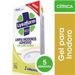 Limpiador Adhesivo Desinfectante Para Inodoro LYSOFORM Cítrica 30gr