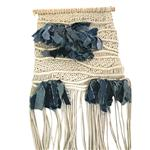 Adorno Pared Macrame Denim 45x75cm . . .