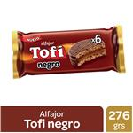 Alfajor Tofi Chocolate 46 Gr X 6 Uni