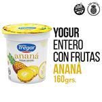 Yogur Entero TREGAR Ananá 160 Gr